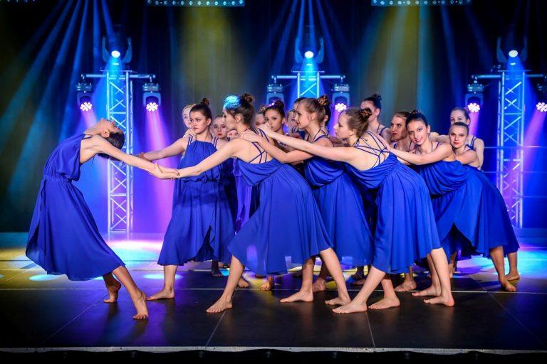 Taneczną magią oczarowują widownię
