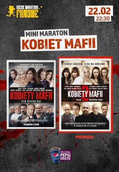 Nocny maraton z KOBIETAMI MAFII 1&2 w kinie HELIOS! Złap podwójne zaproszenie!