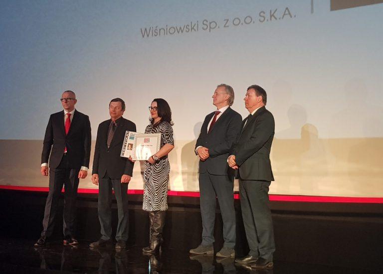 Budowlana Firma Roku i Osobowość Branży według miesięcznika Builder to Wiśniowski!