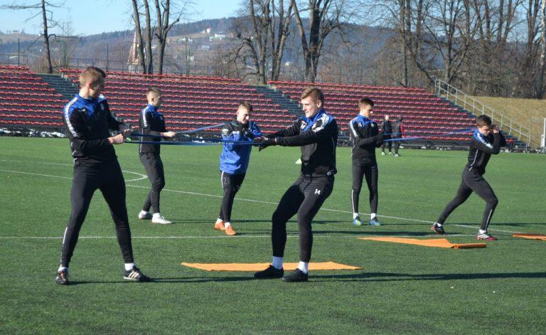 Piłkarze Sandecji wrócili do treningów! [Zdjęcia]