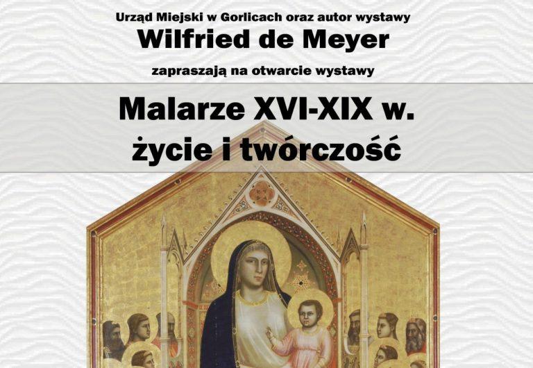 """Wystawa """"Malarze XVI-XIX w. – życie i twórczość"""""""
