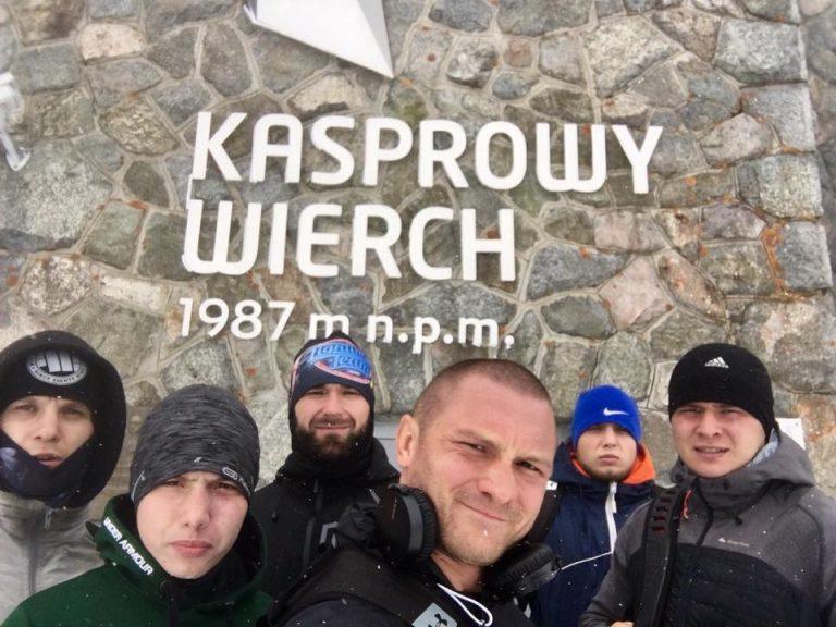 Kickbokserzy Halnego Nowy Sącz budowali formę w Zakopanem
