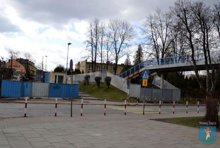 Koniec ze strachem przy przejściu na drugą stronę Nawojowskiej