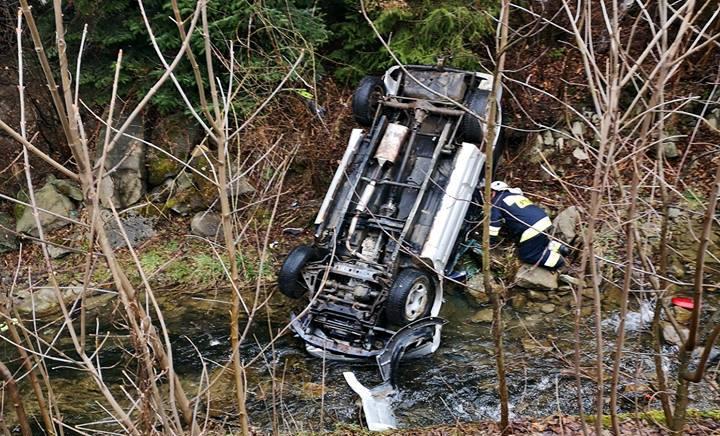 Tragedia w Obidzy. Rano znaleziono ciało kierowcy