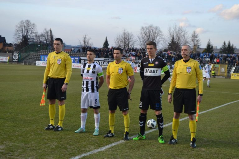Fotogaleria z meczu Sandecji Nowy Sącz z Garbarnią Kraków