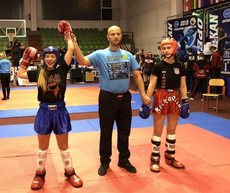 Kickboxing. Sądeczanka dominatorką na Bałkanach!