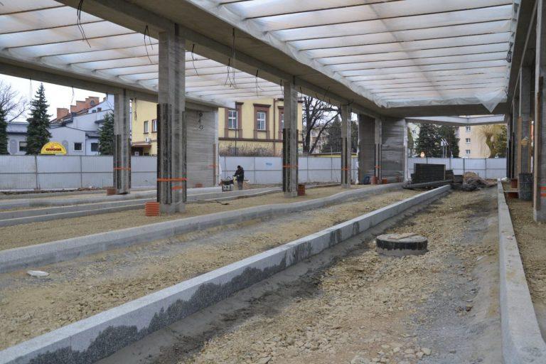 Dworzec MPK będzie gotowy kilka miesięcy wcześniej