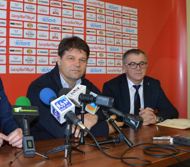 Radosław Mroczkowski, były trener Sandecji, zwolniony z Widzewa