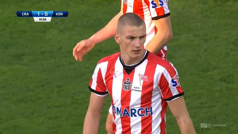 Były snajper Sandecji strzela w ekstraklasie gola za golem [Wideo]