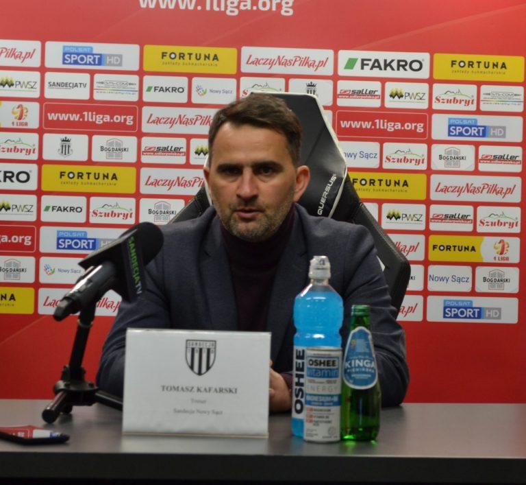 """Trener Sandecji: """"Ciekawe informacje dotyczące przyszłości klubu"""""""