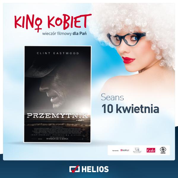 """LAST MINUTE! Kino Kobiet w Heliosie zaprasza na spotkanie z """"Przemytnikiem"""" ;)"""