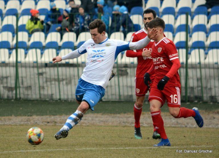 Wiktor Nowak z debiutanckim golem w Hutniku Kraków