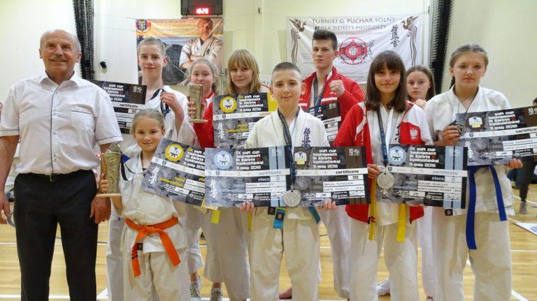 Karate. NKS z medalami na turnieju o Puchar Solny! [Zdjęcia]