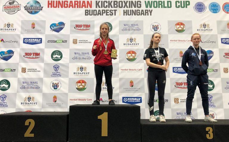 Kickboxing. Sądeczanka zdobyła Puchar Świata! [Zdjęcia]