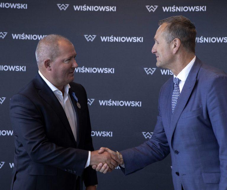 Andrzej Wiśniowski odznaczony Medalem Stulecia Odzyskanej Niepodległości
