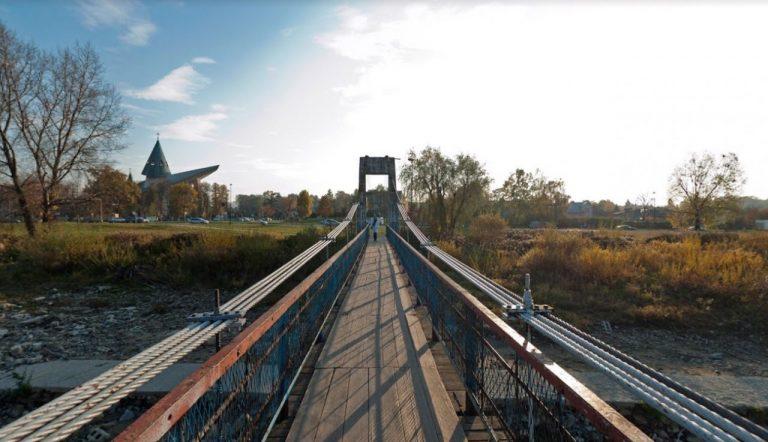 Uwaga! Kładka nad Kamienicą przy moście 700-lecia nieczynna
