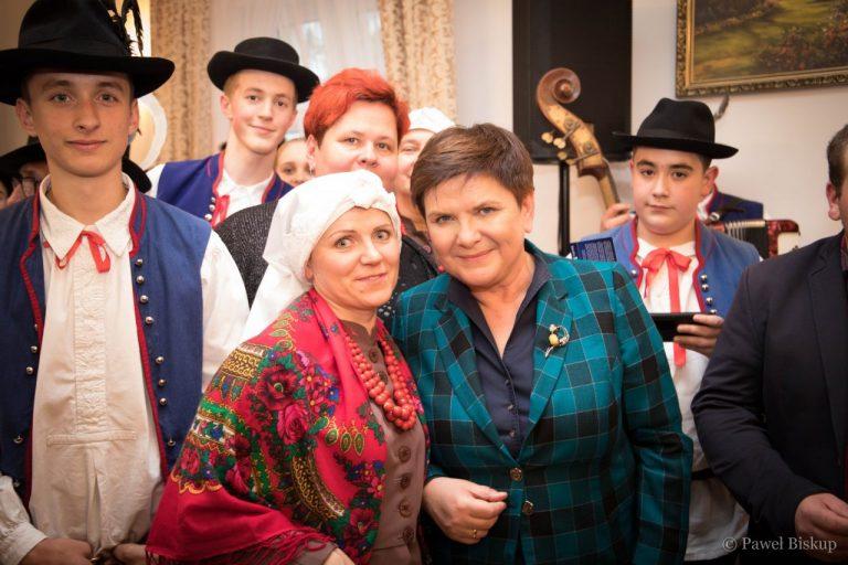 Beata Szydło znów odwiedziła Sądecczyznę [zdjęcia]