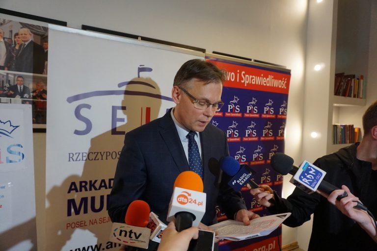Oficjalne wyniki wyborów: Arkadiusz Mularczyk jednak bez mandatu europosła