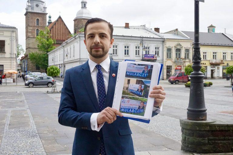 Jakub Bocheński: apeluję do Arkadiusza Mularczyka, aby złożył mandat poselski