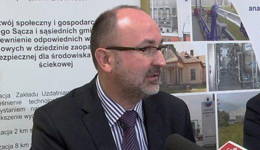 Janusz Adamek żegna się ze stanowiskiem prezesa Sądeckich Wodociągów