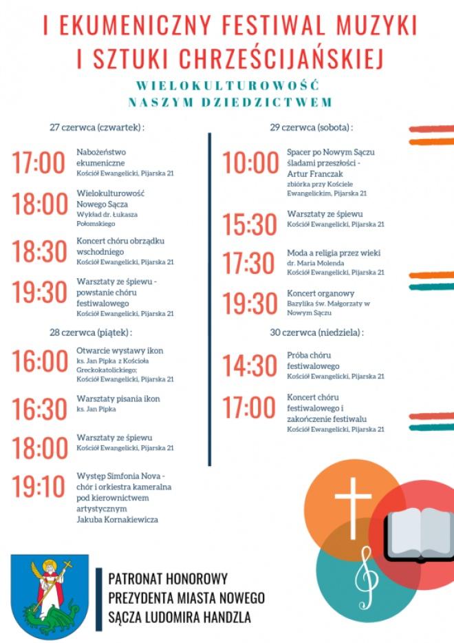 I Ekumeniczny Festiwal Muzyki i Sztuki Chrześcijańskiej w Nowym Sączu
