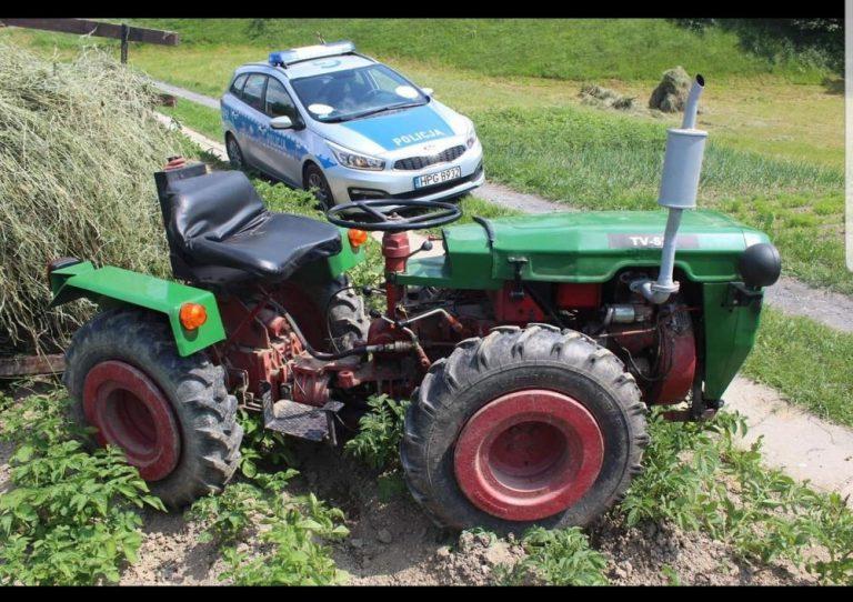6-latek wpadł między koła ciągnika rolniczego. W akcji śmigłowiec LPR