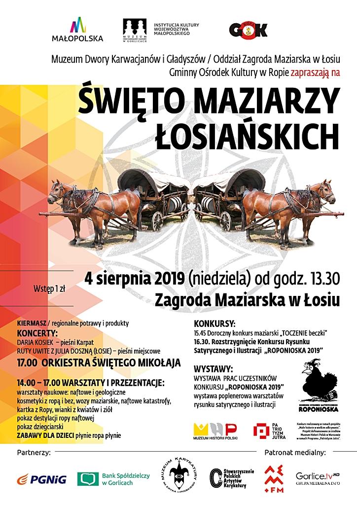 Łosie, 4 sierpnia: Święto Maziarzy Łosiańskich