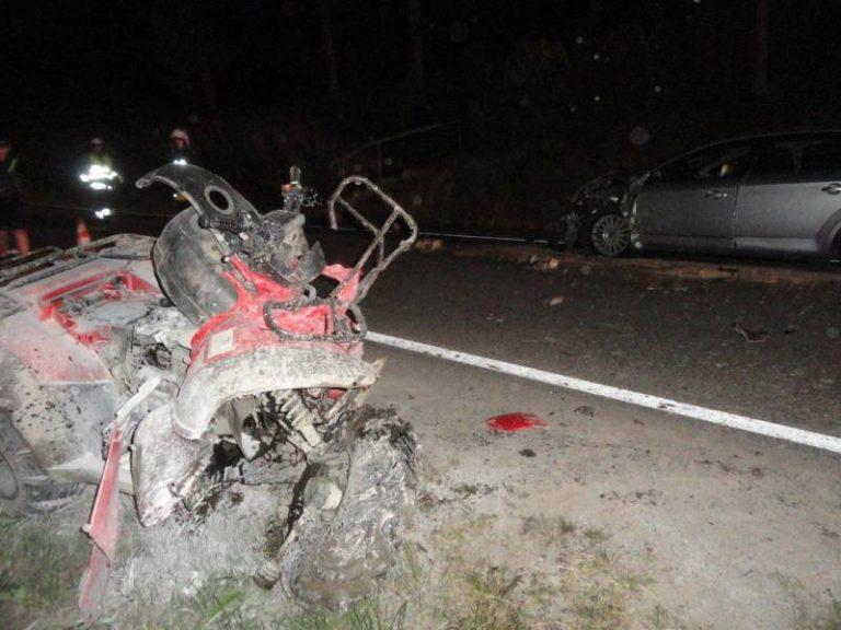 Wypadek w Mochnaczce Wyżnej zakończył się śmiercią 26-latka