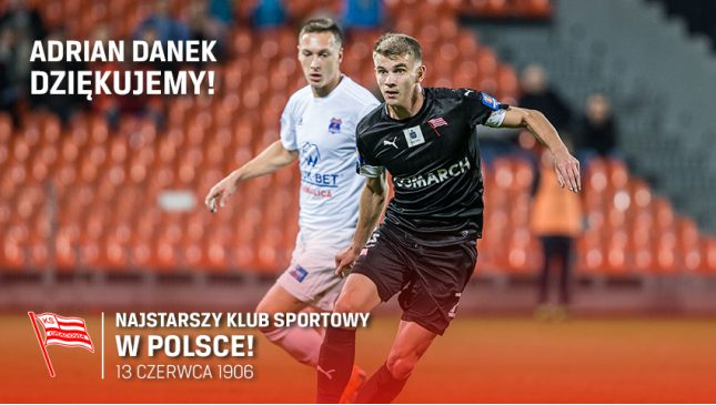 """Adrian Danek odszedł z Cracovii. """"Takie jest życie"""" [Wywiad]"""