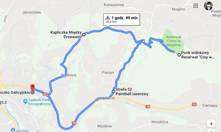 Sądecka Mapa Rowerowa III: Odwiedziny u staruszka Bartka na Jodłowej Górze (19)