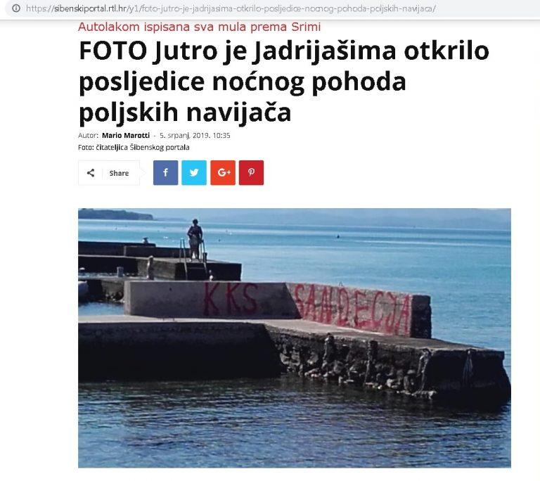 O Sandecji głośno w Chorwacji. Niestety nie mamy powodu do dumy