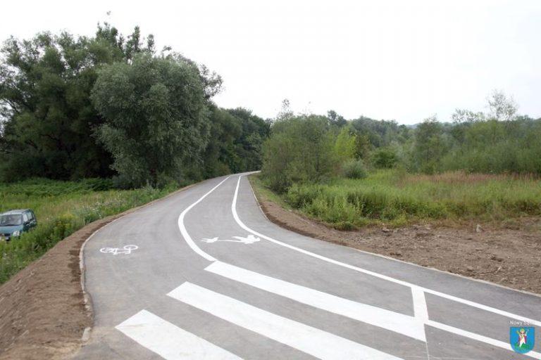 Nowa ścieżka dla rowerzystów i pieszych nad Kamienicą oddana do użytku