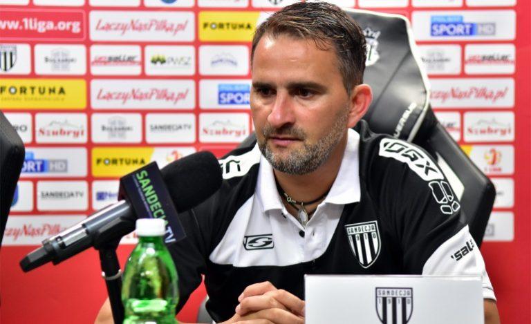 Tomasz Kafarski po meczu z GKS-em Tychy: Było to spotkanie z bardzo wymagającym rywalem