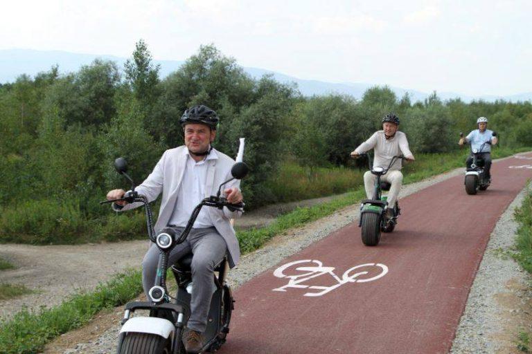 Ścieżka rowerowa ma połączyć dwa mosty i cztery gminy: dwa Sącze, Chełmiec i Podegrodzie