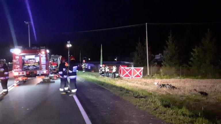 Łososina Dolna: w wypadku zginęła 22-latka z Iwkowej
