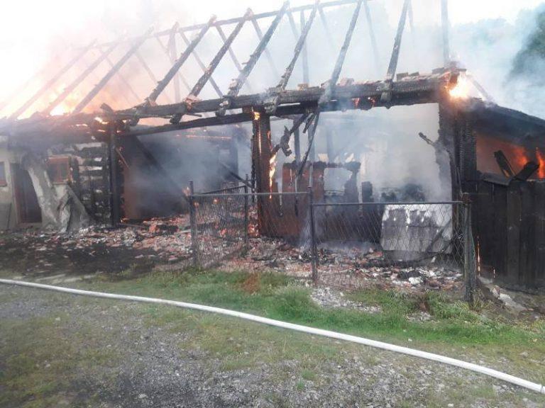 Podpalacz z Nowej Wsi w rękach policji. Spłonęły budynki gospodarcze i drób
