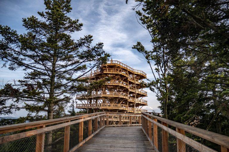 Wieża widokowa w Krynicy-Zdroju otwarta dla turystów