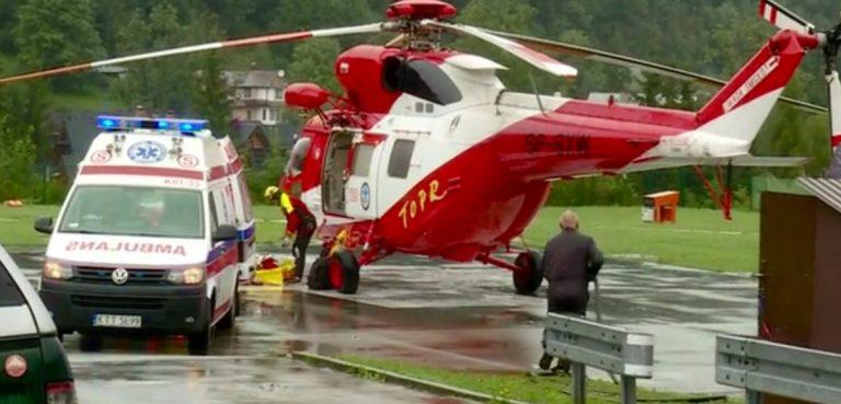 Tatry: ponad 100 poszkodowanych. Nie żyje pięć osób, w tym dwójka dzieci