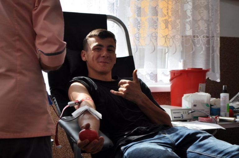 Kolejna akcja zakończona sukcesem. Strażacka krew pomoże między innymi panu Antoniemu