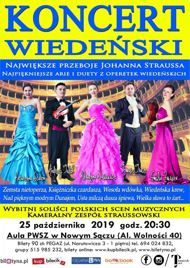 Nowy Sącz, 25 października: Koncert Wiedeński