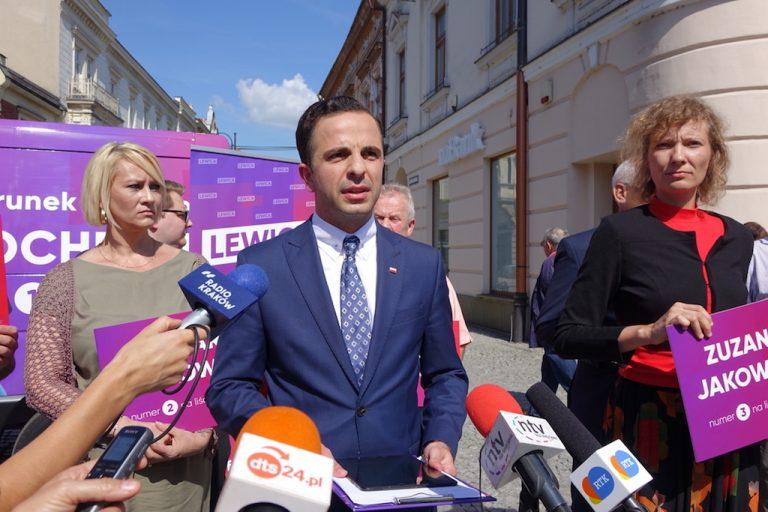Wybory 2019; Nowy Sącz: Lewica zaprezentowała swoich kandydatów. Jakub Bocheński na czele
