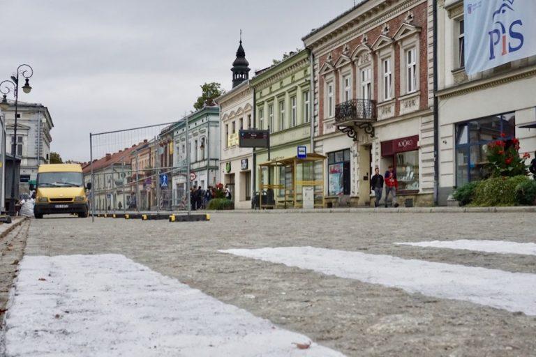 UWAGA: znów zmiana organizacji ruchu na sądeckim Rynku! Przejedziemy ulicą Piotra Skargi