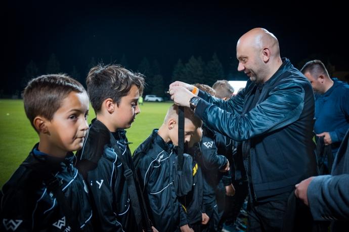 Młodzi piłkarze Sandecji nagrodzeni za oryginalną akcję