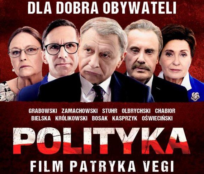 """Łap zaproszenie na przedpremierę filmu Patryka Vegi """"POLITYKA"""" w kinie Helios!"""