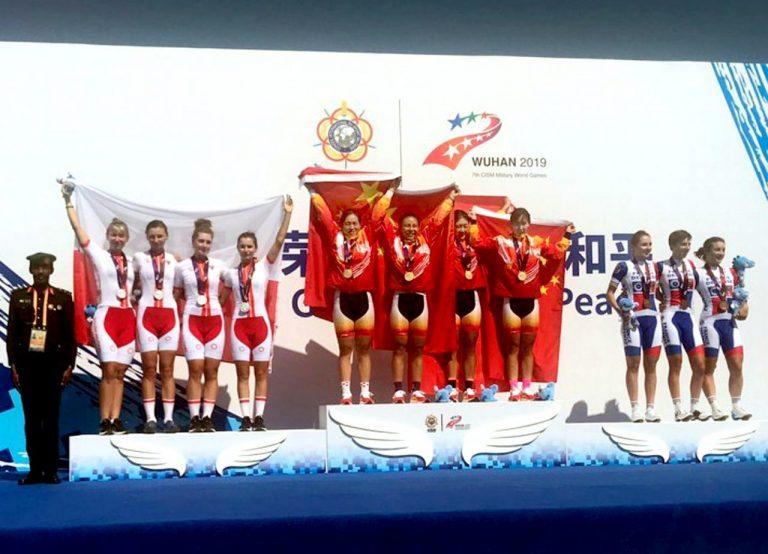 Sądeczanka z medalem Wojskowych Igrzysk