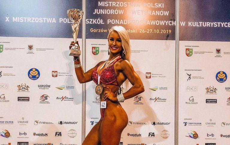 Patrycja Słaby z kolejnym złotem! Obroniła tytuł na Mistrzostwach Polski