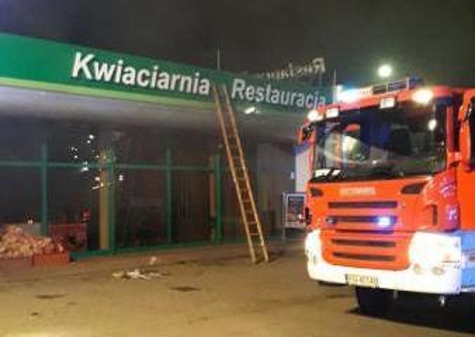 Nowy Sącz: nad ranem na stacji paliw wybuchł pożar