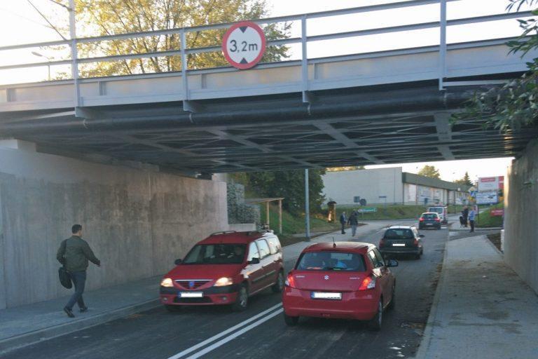 Nowy Sącz, ul. Zielona: wiadukt otwarty! koniec objazdów!