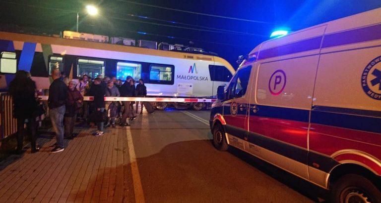 Tragedia w Nowym Sączu. Na przejeździe kolejowym zginął 41-letni Rafał