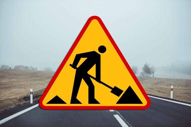 Uwaga! Remont drogi Trzetrzewina – Podrzecze